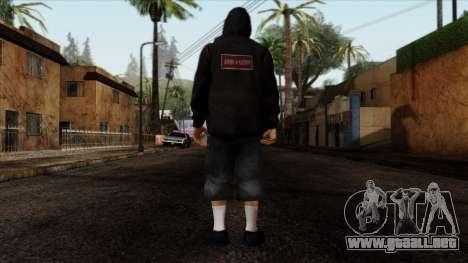 GTA 4 Skin 15 para GTA San Andreas segunda pantalla