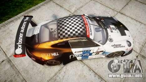 RUF RGT-8 GT3 [RIV] Nelris para GTA 4 visión correcta