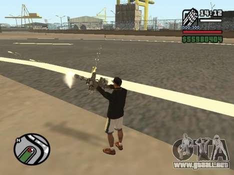 Doble propiedad de todas las armas para GTA San Andreas sexta pantalla