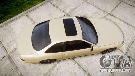 Lexus SC300 1997 para GTA 4 visión correcta