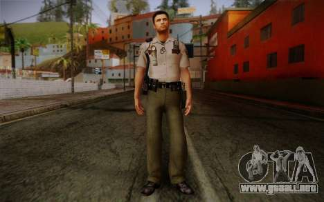 Alex Shepherd From Silent Hill Police para GTA San Andreas