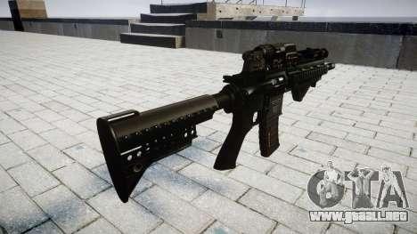 Rifle de HK416 CQB para GTA 4 segundos de pantalla