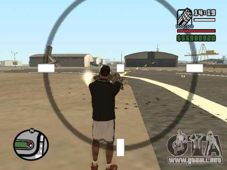Doble propiedad de todas las armas para GTA San Andreas séptima pantalla