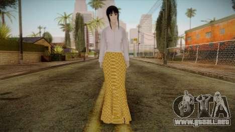 Kebaya Girl Skin v1 para GTA San Andreas