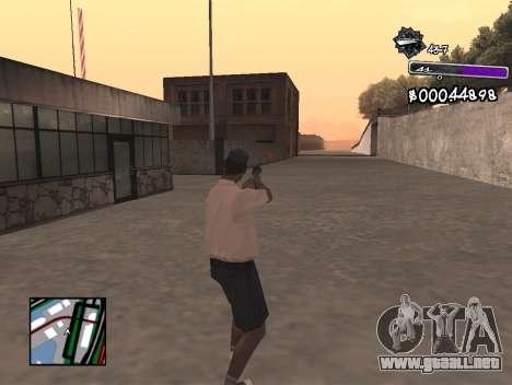 C-HUD Minimal para GTA San Andreas tercera pantalla