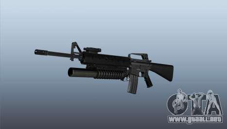 Rifle M16A2 M203 sight1 para GTA 4