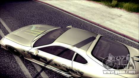 Toyota Supra Street Edition para visión interna GTA San Andreas