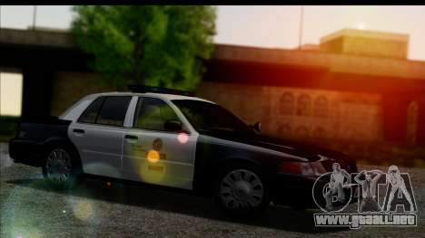 LAPD Ford Crown Victoria Whelen Lightbar para GTA San Andreas