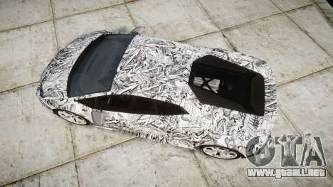 Lamborghini Huracan LP610-4 2015 Sharpie para GTA 4 visión correcta