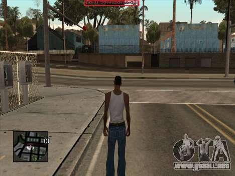 CLEO Date and Time para GTA San Andreas tercera pantalla