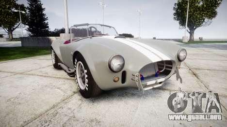 AC Cobra 427 PJ1 para GTA 4