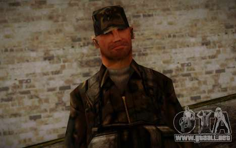 Soldier Skin 4 para GTA San Andreas tercera pantalla