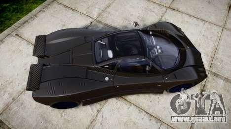Pagani Zonda C12 S 7.3 2002 PJ4 para GTA 4 visión correcta