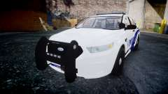 Ford Taurus 2014 Liberty City Police [ELS]
