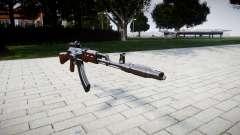 El AK-47 Colimador y el Hocico de freno