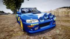 Subaru Impreza WRC 1998 v4.0 World Rally para GTA 4