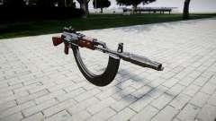 El AK-47 Colimador. Hocico y HICAP