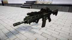 Rifle de HK416 CQB destino para GTA 4