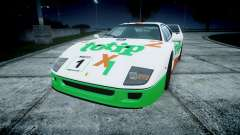 Ferrari F40 1987 [EPM] Jolly Club para GTA 4