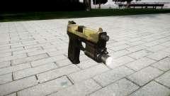 La pistola HK USP 45 flora