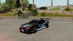 Nissan Skyline GT-R 34 Toyo Tires para GTA San Andreas