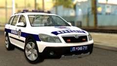 Skoda Octavia Scout Police