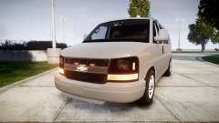 Chevrolet Express 2013 NYPD [ELS] unmarked