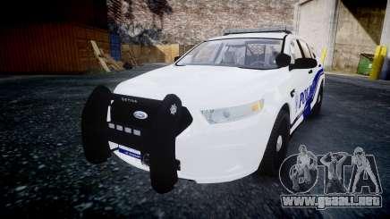 Ford Taurus 2014 Liberty City Police [ELS] para GTA 4