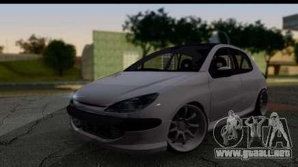 Peugeot 206 Drift JDM Style para GTA San Andreas