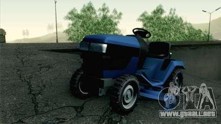 GTA V Mower para GTA San Andreas