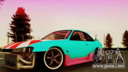 Nissan Silvia S14 купе para GTA San Andreas