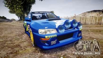 Subaru Impreza WRC 1998 v4.0 World Rally para GTA 4