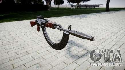 El AK-47 Colimador. Hocico y HICAP para GTA 4