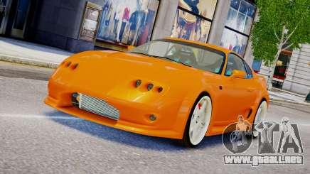 Toyota Supra VeilSide Fortune 03 v1.0 para GTA 4