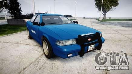 GTA V Vapid Police Cruiser Gendarmerie2 para GTA 4