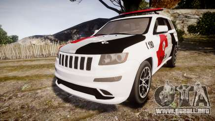 Jeep Grand Cherokee SRT8 Forca Tatica [ELS] para GTA 4