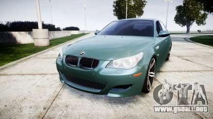 BMW M5 E60 v2.0 Stock rims para GTA 4