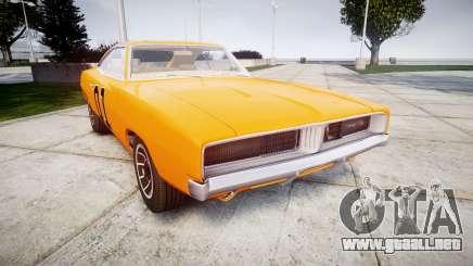Dodge Charger RT 1969 General Lee para GTA 4