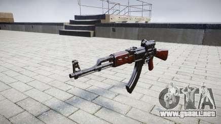 El AK-47 Colimador de destino para GTA 4