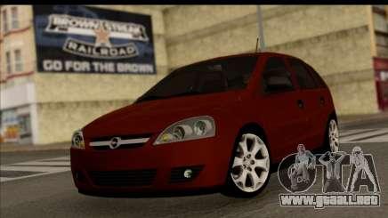 Opel Corsa C Sport para GTA San Andreas