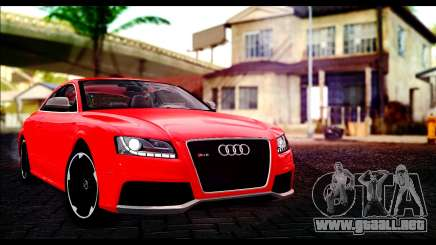 Audi RS5 Coupe para GTA San Andreas