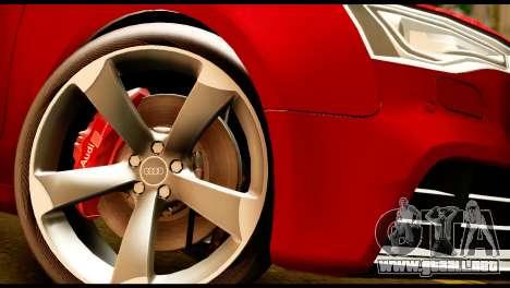 Audi RS5 2013 para la visión correcta GTA San Andreas