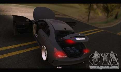 Mercedes Benz CLA 250 2014 para la vista superior GTA San Andreas