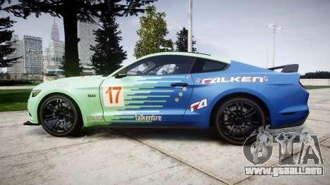 Ford Mustang GT 2015 Custom Kit falken para GTA 4 left