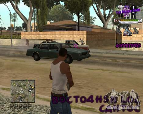 C-HUD for Ballas para GTA San Andreas