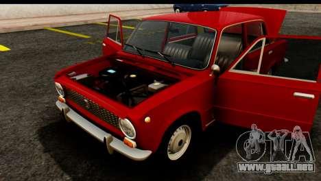 VAZ 2101 Zhiguli para visión interna GTA San Andreas