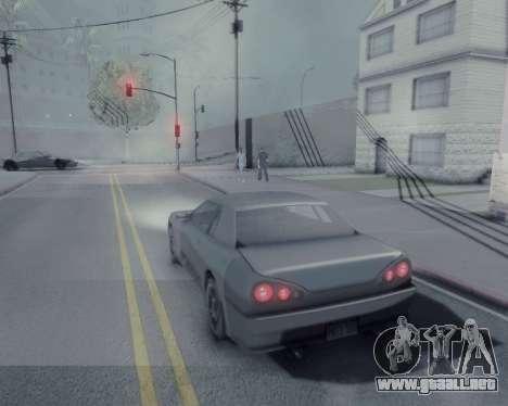 Gráfico Mod v5.0 для GTA San Andreas para GTA San Andreas sucesivamente de pantalla