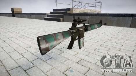 El rifle M16A2 [óptica] varsovia para GTA 4 segundos de pantalla