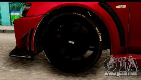 Mitsubishi Lancer Evolution FQ-400 V2 para GTA San Andreas