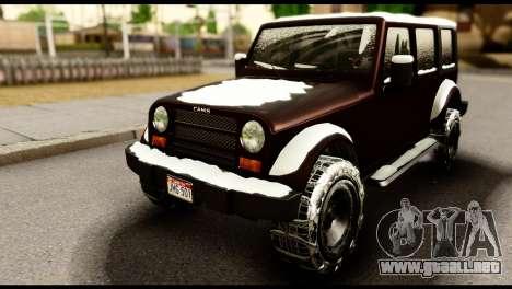 GTA 5 Mesa para GTA San Andreas